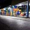 Санаторий Ай-Петри - детская площадка вечером